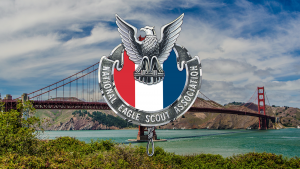 NESA logo over golden gate bridge